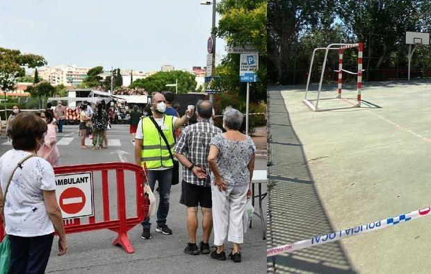 El Baix Llobregat toma medidas para evitar un brote de covid-19 como el de L'Hospitalet