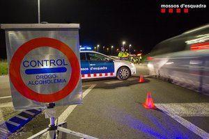 Denuncia penal para un camionero que cuadruplicaba la tasa de alcoholemia en Martorell