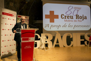 La Cruz Roja de Molins de Rei cumple 80 años