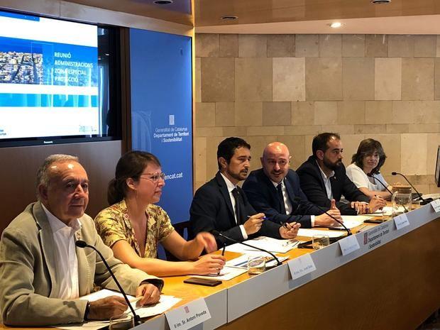 Reunión del Àmbito-40 liderada por el conseller Damià Calvet este lunes para luchar contra la contaminación en el ámbito metropolitano