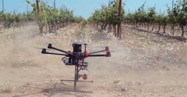 Los drones se utilizan para muchas más cosas que simplemente divertirse haciendo fotos o piruetas: pueden ser un aliado para los agricultores.