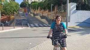 Noemí De la Calle, una diputada en bicicleta