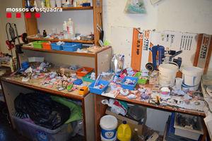 Una imagen del estado de la clínica donde el arrestado atendía a sus clientes