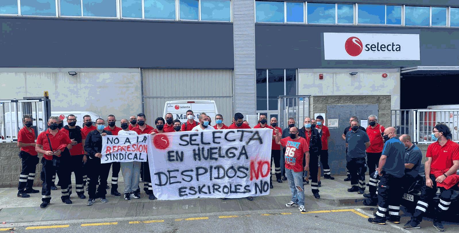 Suspendida la huelga indefinida de la multinacional del vending Selecta en Sant Boi y Sant Andreu