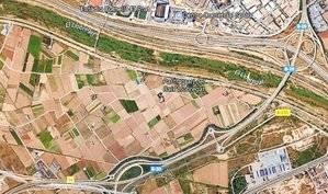 Imatge del Parc Agrari del Baix Llobregat a la seva zona sud