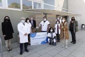 Los dos CAP de Gavà reciben una donación de 10.000 mascarillas y equipaciones de seguridad