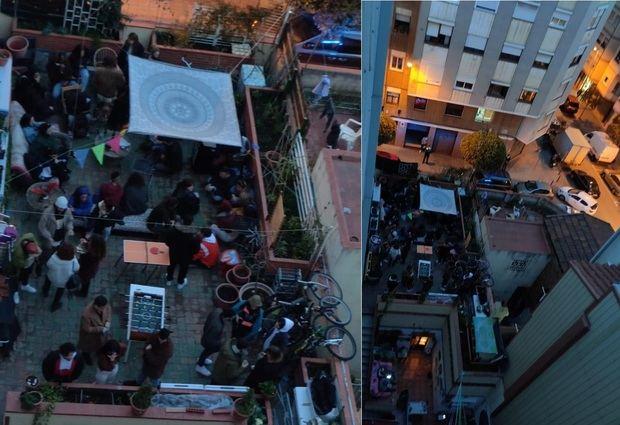 La policía desmantela dos fiestas ilegales en L'Hospitalet que habían reunido a casi 60 personas