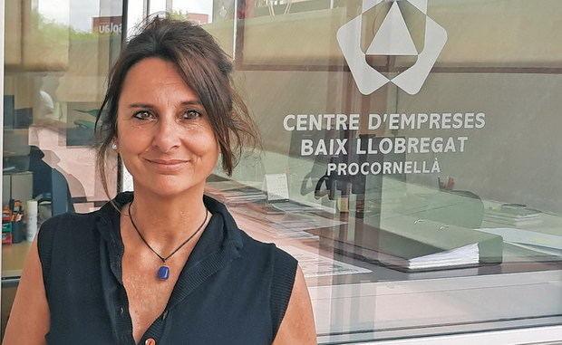 """Beatrice Deghilage, economista y directora del Centre d'Empreses de Procornellà: """"Poner en marcha una empresa tecnológica es como hacer escalada: es un deporte de riesgo"""""""