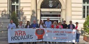La nueva C-245 entre Cornellà y Castelldefels incluirá dos carriles segregados: uno para bus y otro para bicis