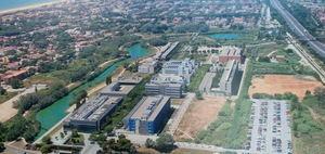 Drones y 5G confluyen en el Campus UPC del Baix Llobregat