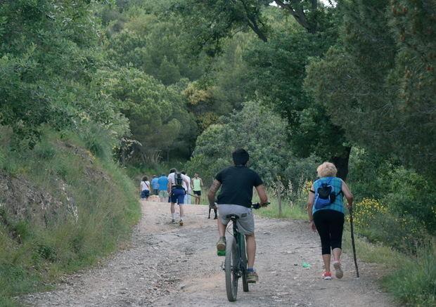 La montaña de Mas Ratés ejemplifica el retorno al 'verde' de la desescalada