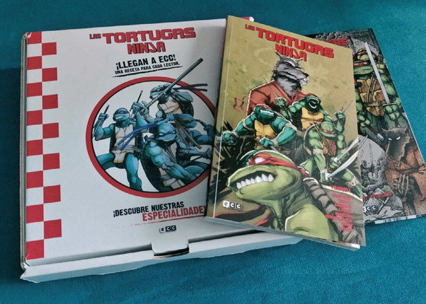 Cartas desde Krypton: ¡Son las fabulosas Tortugas Ninja…!