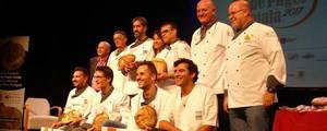 Miquel Guich, del Forn del Passeig de Barcelona, guanya el certamen Millor Pa de Pagès Català del 2017, celebrat a Gavà
