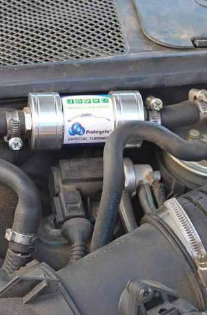Un ingeniero mecánico de Cervelló inventa un dispositivo capaz de reducir las emisiones de gases contaminantes