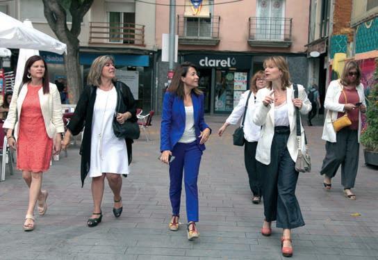 El juny El Llobregat va reunir les alcaldesses de la comarca per fer una fotografia a Sant Ramon Nonat.