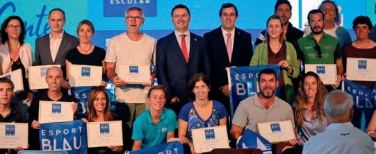 L'acte de lliurament va tenir lloc durant el Saló Nàutic de Barcelona