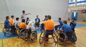 La UNES Unió Esportiva exporta la Escuela AFA de Sant Feliu a Toledo
