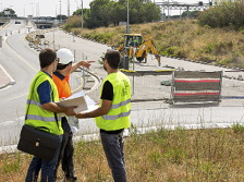 El carril bici que connecta Esplugues amb la Diagonal estarà enllestit al maig de 2017