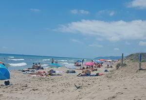 Las playas del Baix Llobregat, en grave riesgo de desaparición a corto plazo