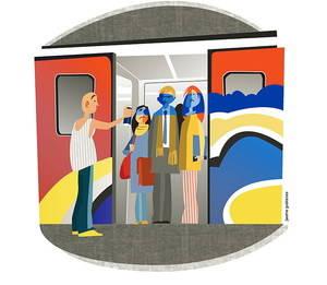 Front comú contra el vandalisme a la xarxa ferroviària