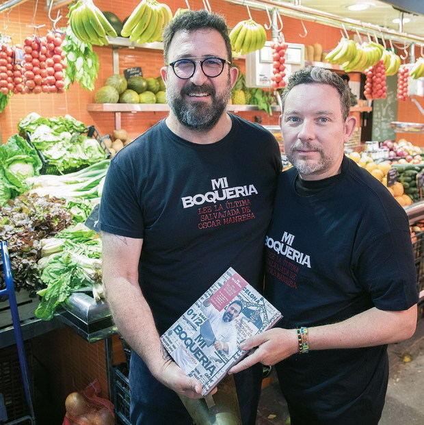 'Presidente' Óscar Manresa: músculo culinario en el Baix