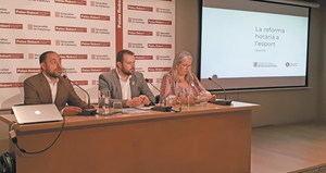 La Secretaria General de l'Esport marca el camí cap a la reforma horària en l'esport