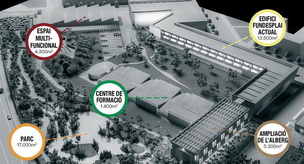Fundesplai celebra mig segle amb una ampliació de prop de 30.000 m2