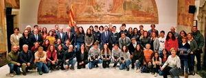 El Govern reconeix els èxits catalans a l'handbol i els esports d'hivern