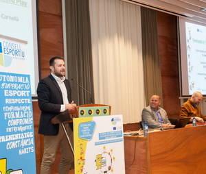 El Consell Esportiu del Baix Llobregat analitza en un congrés el rol dels valors en l'esport escolar