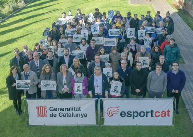 Clam de l'esport català contra la violència masclista