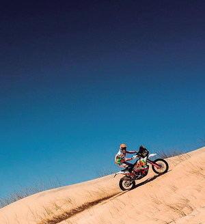 Laia Sanz logra su segundo mejor resultado en el Dakar