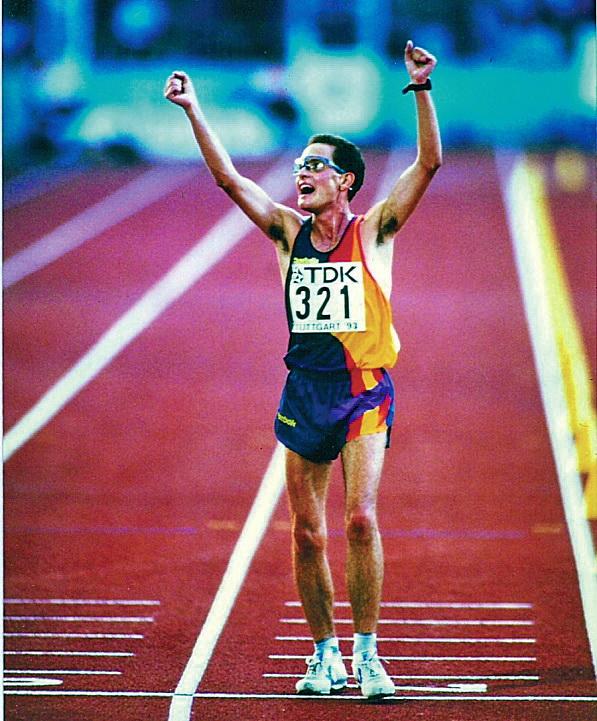 """Valentí Massana: """"Era un atleta que estudiava física i ara sóc un físic que havia fet d'atleta"""""""