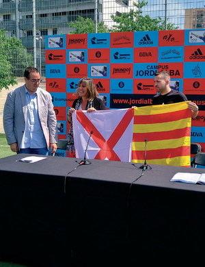 Jordi Alba o cómo pasear el nombre de L'Hospitalet por el mundo entero