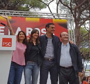 El igualado proceso de primarias y la dimisión de Pedro Sánchez hurgan en la herida del PSC