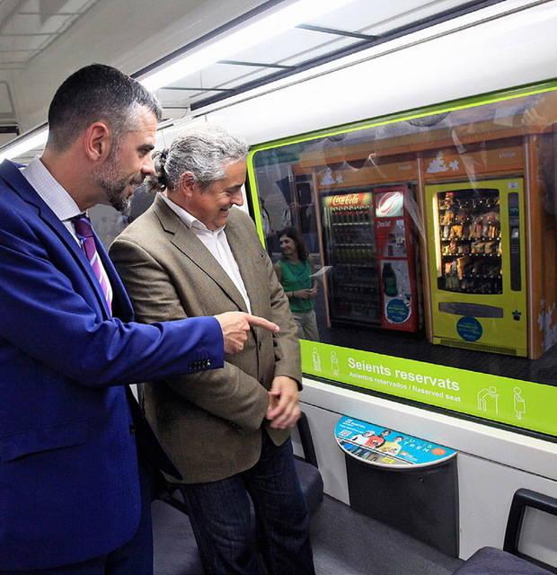 FGC renova tots els trens de la línia Llobregat-Anoia