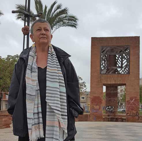 """Antònia Castellana: """"El poder se'ns puja al cap, per això hem d'entrar i sortir"""""""
