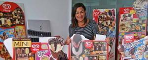 La direcció del departament de Comunicació, per exemple, recau en la figura d'Ana Palencia, a la imatge