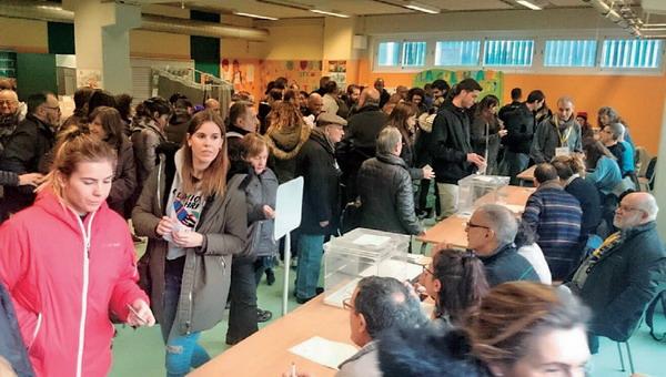 Ciutadans se impone en el Baix con casi el mismo voto que los tres partidos independentistas