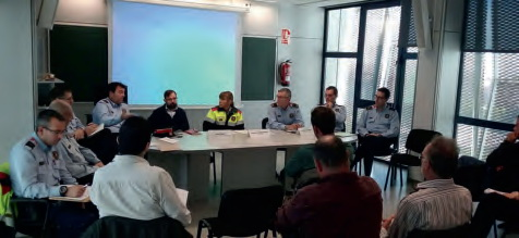Els Mossos i els representants agraris del Baix Llobregat milloren les seves relacions