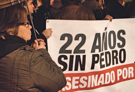 La madre de Pedro Álvarez en la última manifestación | Desideria Petrache - DateCuenta