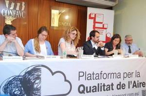 Debat polític sobre l'aire de l'area metropolitana: Barcelona, ciutat contaminada
