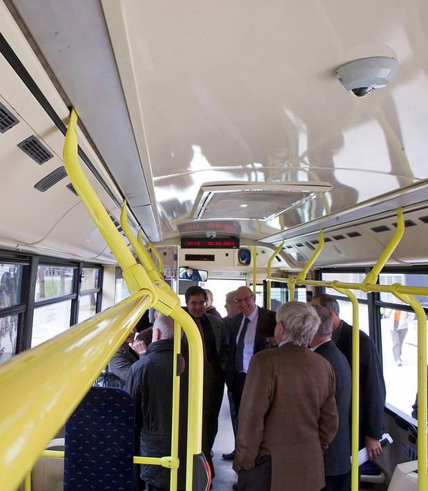 El Gran Hermano del transporte público