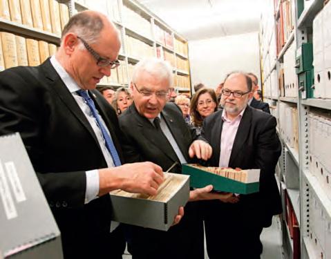 L'Arxiu es renova per mantenir viu el record de la cultura comarcal
