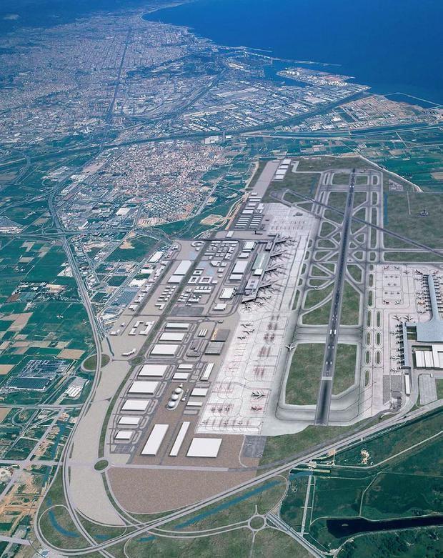 El Prat, a la espera de su ciudad aeroportuaria