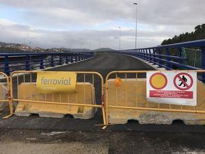 Las obras del enlace entre la A2 y la AP7 se retomarán la semana que viene