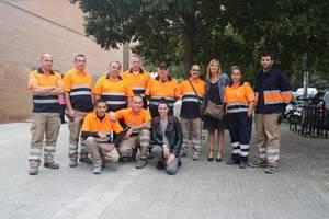 Sant Boi crea un nuevo equipo de mantenimiento para actuar de forma inmediata en la vía pública