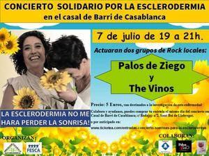 La delegación santboiana de la Asociación Española de Esclerodermia organiza un concierto solidario en favor de la investigación
