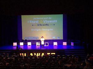 Presentación del Vilawatt ante 9 escuelas de Viladecans