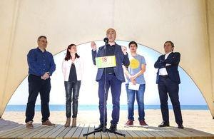 El famoso meteorólogo Tomàs Molina ha estado presente en el acto.
