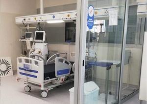 El Hospital de Sant Joan Despí estrena un edificio de cuatro plantas para enfermos de covid-19